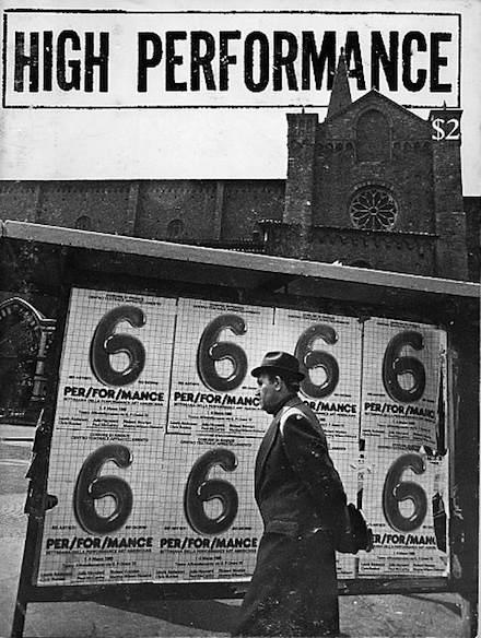 High Performance #10 Vol. III, No. 2, 1980
