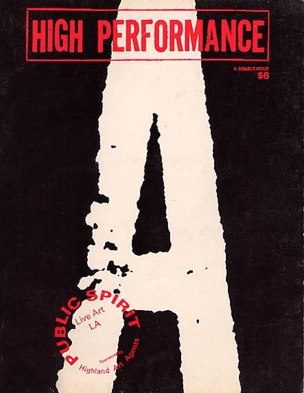 High Performance #11/12 Vol. III, Nos. 3/4, 1980