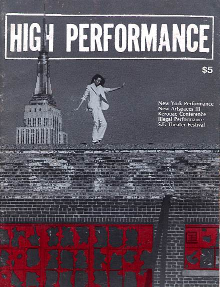 High Performance #19 Vol. V, No. 3, 1982
