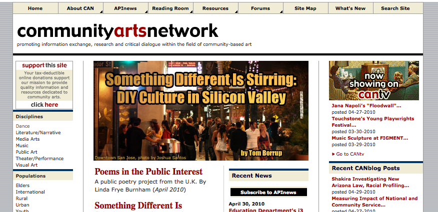 Community Arts Network