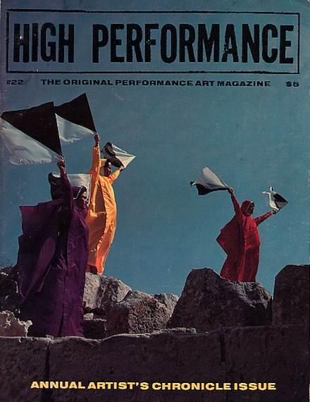 High Performance #22 Vol. VI, No. 2, 1983