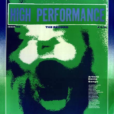 High Performance #23 Vol. VI, No. 3, 1983