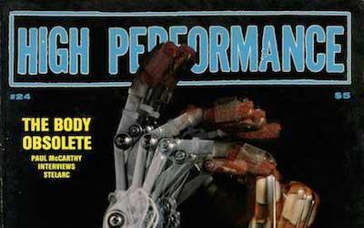 High Performance #24 Vol, VI, No. 4, 1983