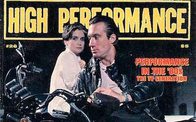 High Performance #26 Vol. VII, No. 2, 1984