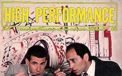 High Performance #32 Vol. VIII, No. 4, 1985