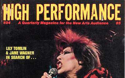 High Performance #34 Vol. IX, No. 2, 1986