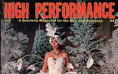 High Performance #35 Vol. IX, No. 3, 1986