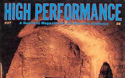 High Performance #37 Vol. X, No. 1, 1987