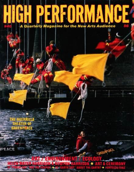 High Performance #40 Vol. X, No. 4, 1987