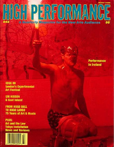 High Performance #44 Vol. XI, No. 4, 1988