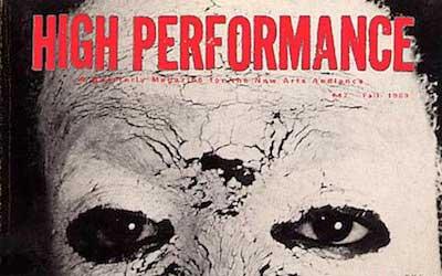 High Performance #47 Vol. XII, No. 3, 1989