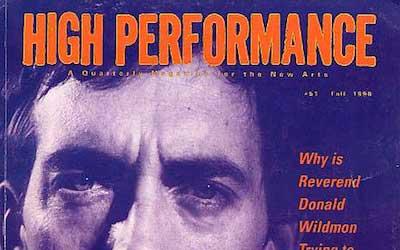 High Performance #51 Vol. XIII, No. 3, 1990