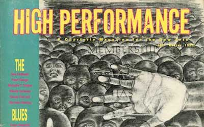 High Performance #52 Vol. XIII, No. 4, 1990