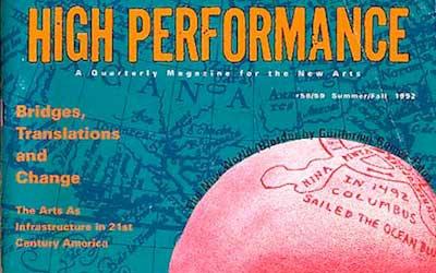 High Performance #58/59 Vol. XV, No. 2/3, 1992