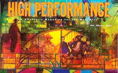 High Performance #60 Vol. XV, No. 4, 1992
