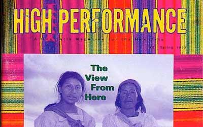 High Performance #61 Vol. XVI, No. 1, 1993