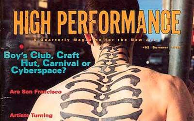 High Performance #62 Vol. XVI, No. 2, 1993