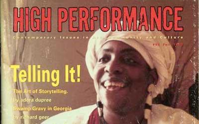 High Performance #63 Vol. XVI, No. 3, 1993