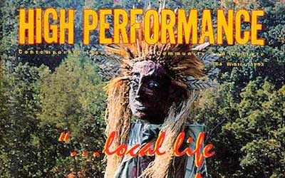 High Performance #64 Vol. XVI, No. 4, 1993
