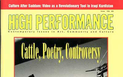 High Performance #65 Vol. XVII, No. 1, 1994