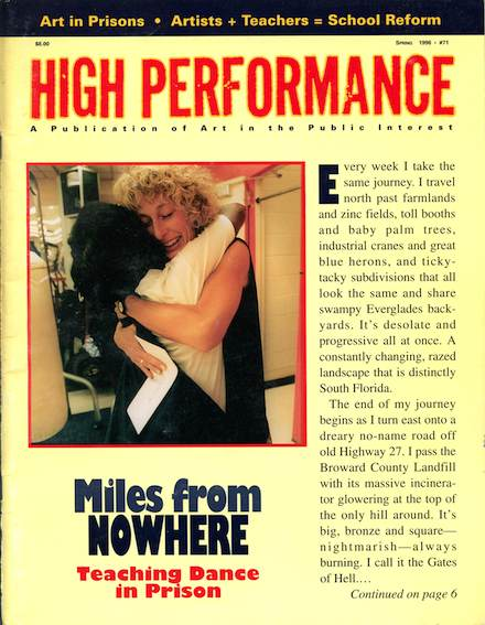 High Performance #71 Vol. XIX, No. 1, 1996