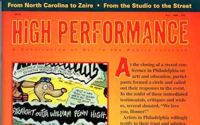High Performance #73 Vol. XIX, No. 3, 1996
