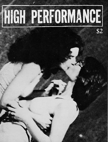 High Performance #8 Vol. II, No. 4, 1979