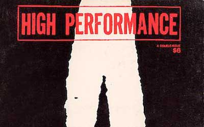 High Performance #11/12 Vol. III, Nos. 3/4, 1980