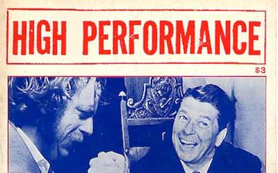 High Performance #13 Vol. IV, No. 1, 1981