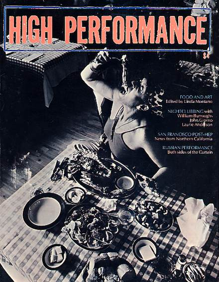 High Performance #16 Vol. IV, No. 4, 1981
