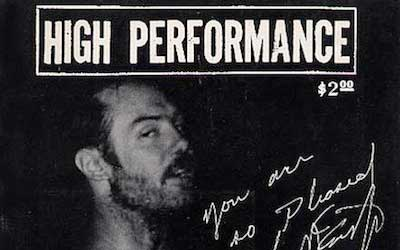 High Performance #2 Vol. I, No. 2, 1978