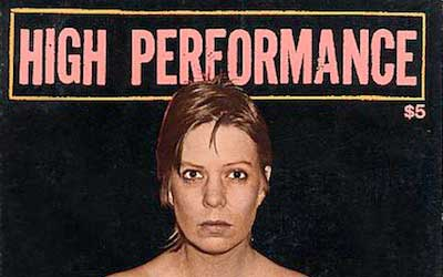 High Performance #20 Vol. V, No. 4, 1982