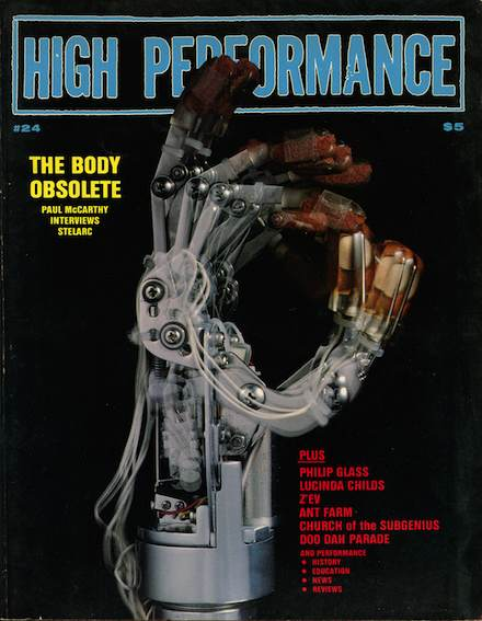 High Performance #24 Vol, VI, No. 4, 1983