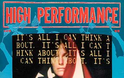 High Performance #25 Vol. VII, No. 1, 1984