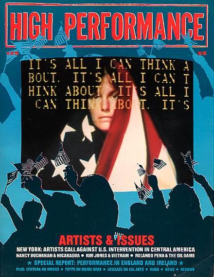 High Performance #25 Vol. VII, No. 1, 1984