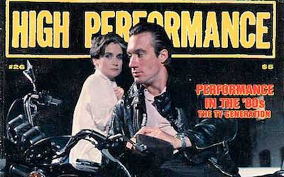 High Performance #26 Vol. VII, No. 2, 1984