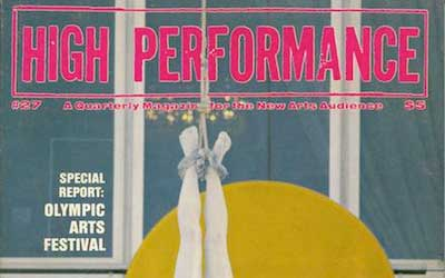 High Performance #27 Vol. VII, No. 3, 1984