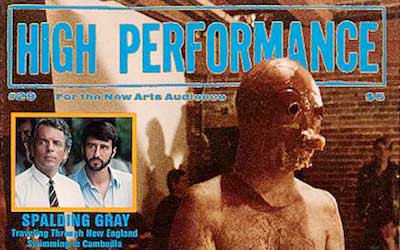 High Performance #29 Vol. VIII, No. 1, 1985