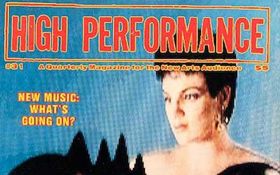 High Performance #31 Vol. VIII, No. 3, 1985