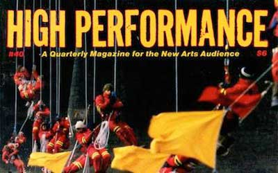 High Performance #40 Vol. X, No. 4, 1987
