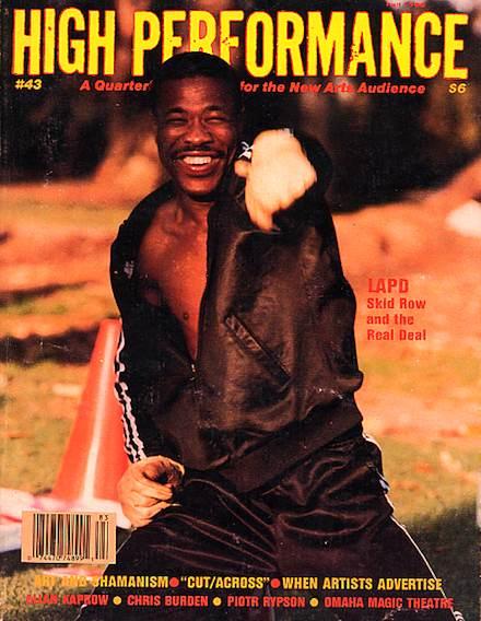 High Performance #43 Vol. XI, No. 3, 1988