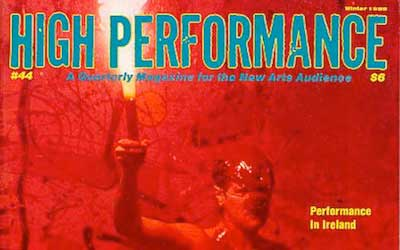 High Performance #44 Vol. XI, No. 4, 1988