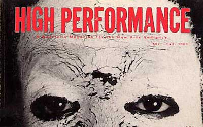 High Performance #47 Vol. XII, No. 3, 1989