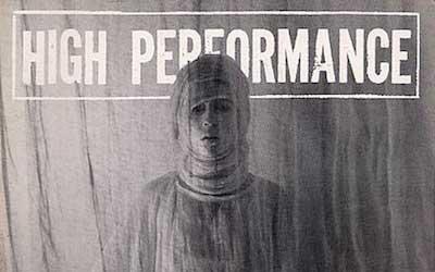 High Performance #4 Vol. I, No. 4, 1978