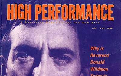 High Performance #51 Vol. XIII, No. 3, 1990