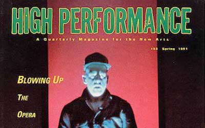 High Performance #53 Vol. XIV, No. 1, 1991