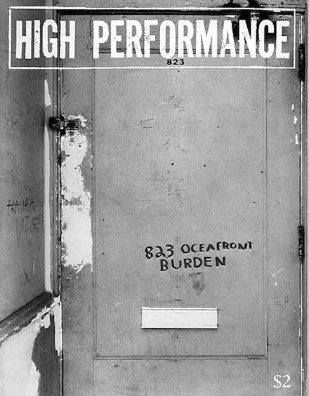 High Performance #5 Vol. II, No. 1, 1979