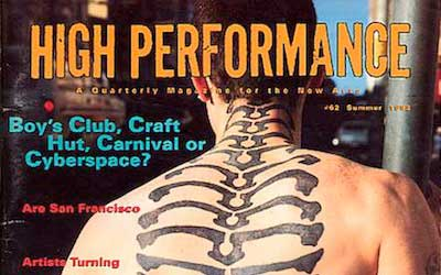 High Performance #62 Vol. XVI, No. 2, 1993