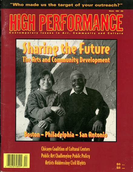 High Performance #68 Vol. XVII, No. 4, 1994