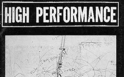 High Performance #6 Vol. II, No. 2, 1979